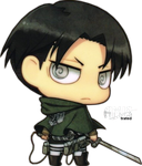 SNK - Corporal Levi - Chibi by Amistrated