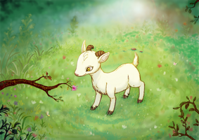Little goat by MeoAgcat