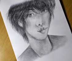 Sato Takeru drawing 3 by UchihaAkanee