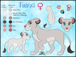 Fuerza Ref - Commish by JessiRenee