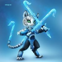 Character Profile: Jager, The Grand Mystic of Ice by Zeo-Fawx