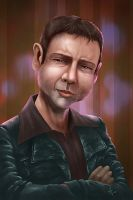 Sam Tyler caricature by AlanPerry
