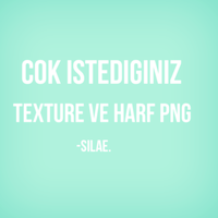Texture Ve Harf Png. by SilaEOfficial