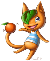 Animal Crossing - Tangy by SunnieF