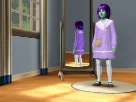 Sims 3 Equestria Girls - Young Sunny Flare pic 2 by Magic-Kristina-KW