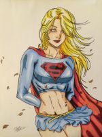 Supergirl color by Drakelb