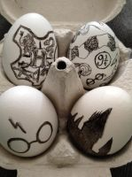 A Very Potter Easter! by KatjaFin