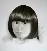 little girl by monda123