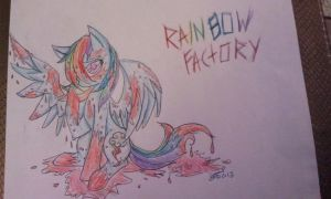 Rainbow Factory- Rainbow Dashes Guilt by InvaderIka