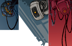 .GLaDOS. by GasMaskMonster