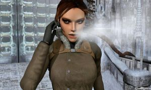 A cold day in Nepal by XTombRaiderxx