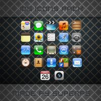 iOS icons pack by SuperPS