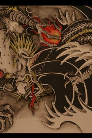 chinese dragons tattoo<br />