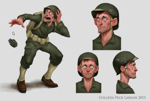 Wreck-It-Ralph Character Concept by WieldstheKey