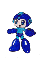 Rockman my chibi version by VOLTAREVILGIRL
