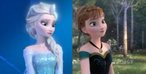 Anna and Elsa Comparison by trollinlikeabitchtit