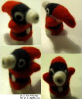 Needlefelted Snifit by Sotkettu