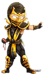 Chibi Scorpion by LazyTurtle