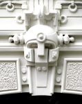 Art Deco building detail, Riga, Latvia by Flaatcap