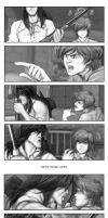 Old West comic test pages by MichaelMayne