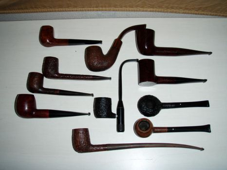 Dunhill pipes by BigPoppa18