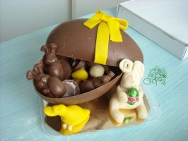 Chocolate egg 2 by Gwendelyn