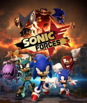 Sonic Forces New Artwork by MxRobotnik