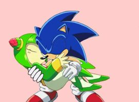 SonicXCosmo Screenshot Edit 2 by deviousblackmage12
