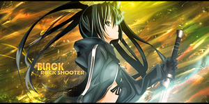 Black Rock Shooter by janisar22