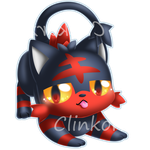 Litten by Clinkorz