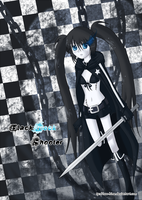 Vocaloid- Black Rock Shooter by Noa-Hime