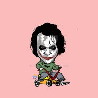 Baby Joker by abendiart