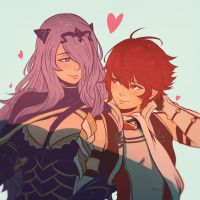 Camilla and Hinoka by Koyorin