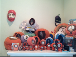 My Kenny McCormick collection by Droopy-Panda