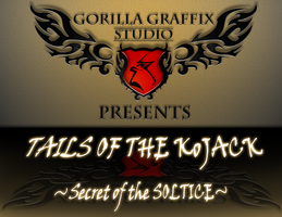 Tails of the Kojack Title Font by gorillagraffix