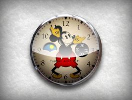 Mickey Mouse Vintage Watch by MajesticLumen