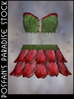 Fairy Flower Outfit 004 by poserfan-stock