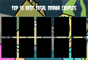 Top 10 Best Total Drama Couples Template by air30002