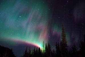 Northern Lights 9 by Wolfwoman7
