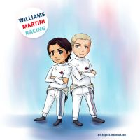 Team Williams F1 by AngieVX