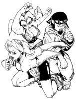 we three ninjas of orient are by zillford