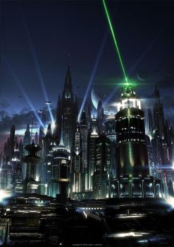 The Lasercity by JJasso