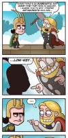 Thor and Loki by dxdiagbg