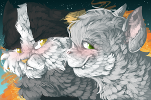 your love keeps me to warm_BadgerXPebble by X-Ask-Tigerstar-X
