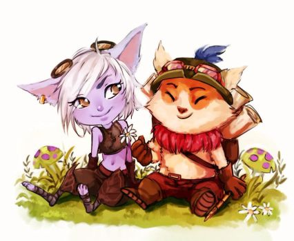 Captain's Teemo duties! by Toro-ro