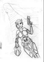 Rae: Rogue Authority Edit 3 by davids-sketchbook