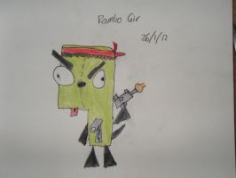 Rambo Gir by Taco-Cheese-Dog