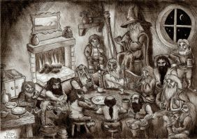 An Unexpected Party by Fernoll
