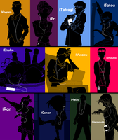 iPods of Detective Conan 3 by Mosflow