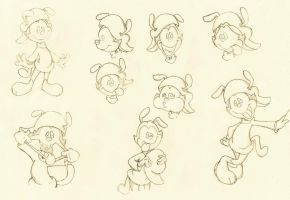 Wakko Sketches by Emaberry